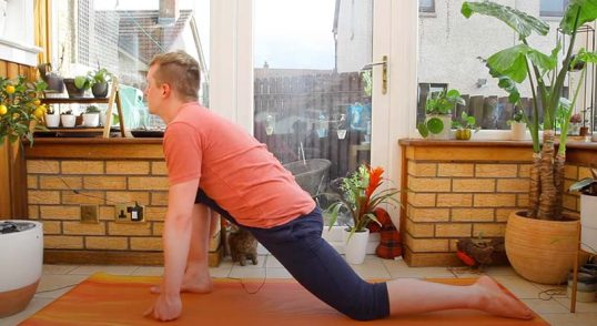 Yoga Lunges
